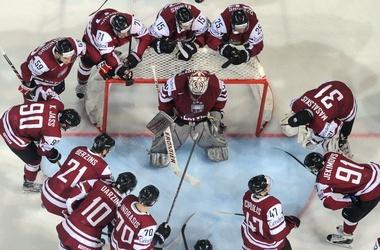 Сборная Латвии по хоккею с шайбой
