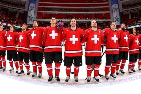 Сборная Швейцарии по хоккею с шайбой
