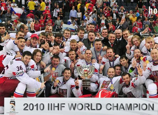 Сборная Чехии по хоккею - чемпион 2010 года