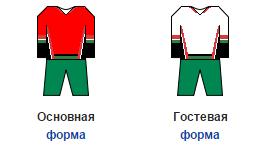 форма сборной Венгрии по хоккею