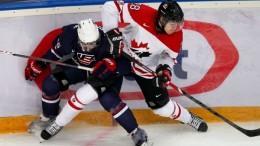 США-Канада, хоккей