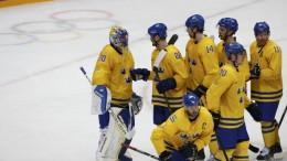 Швеция Казахстан хоккей